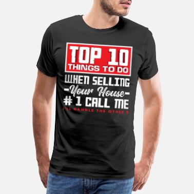 Sight Real Estate Agent Top 10 Selling - Men's Premium T-Shirt