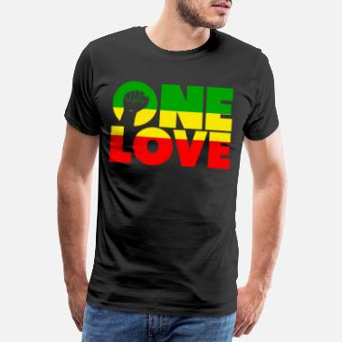 Dub love once - Men's Premium T-Shirt