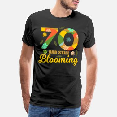 1950s 70th birthday 70 years old 70th party gift idea - Men's Premium T-Shirt