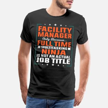 Plant Facility manager profession employee gift idea - Men's Premium T-Shirt