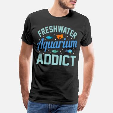 Display Aquarium Vis Turtle Keeper Gift Idee - Mannen premium T-shirt