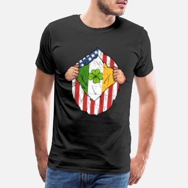 Iers St Patrick's Day Ierse Amerikaanse grappige Paddy Gift - Mannen Premium T-shirt