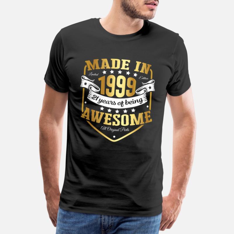 21st Anniversaire Cadeau Idée Pour Filles maman sa femme 1998 t shirt tee shirt