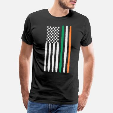 Irish Irish American - Men's Premium T-Shirt