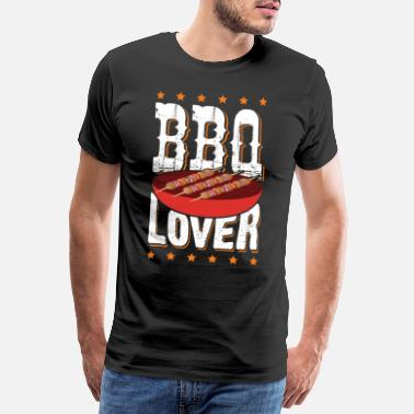 Pince Du Barbecue Amateur de barbecue - T-shirt premium Homme