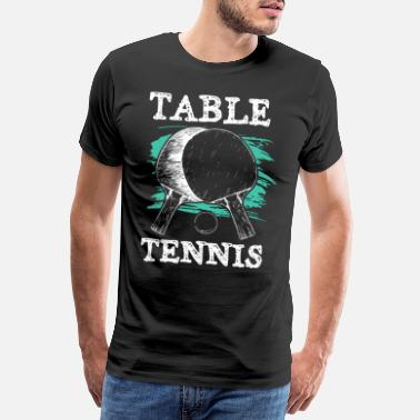 Icon Icône de tennis de table ping-pong - T-shirt premium Homme