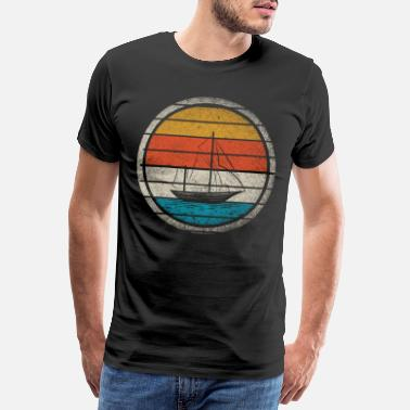 Seaman sailing - Men's Premium T-Shirt