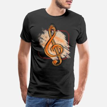Composer clef - T-shirt premium Homme