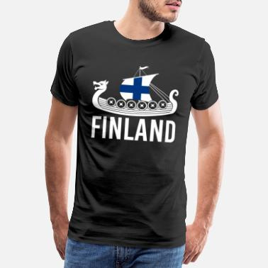 Animals Animal Finland Finnish moose - Men's Premium T-Shirt