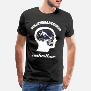 Olympus Volleyball player incurable - Men's Premium T-Shirt