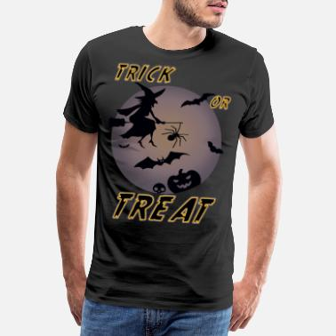 Bat Wings Witch trick or treat Halloween - Men's Premium T-Shirt