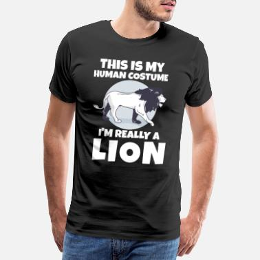 Safari Lion - T-shirt Premium Homme