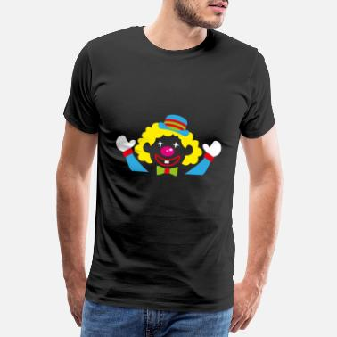 Mainz Clown kostume - Herre premium T-shirt