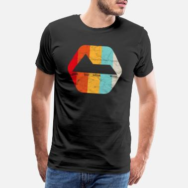 Release Analog Synth ADSR Envelope Producer Vintage - Men's Premium T-Shirt