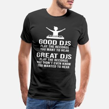 Equalizer Producteur DJ Disc Jockey Beat Maker - T-shirt premium Homme