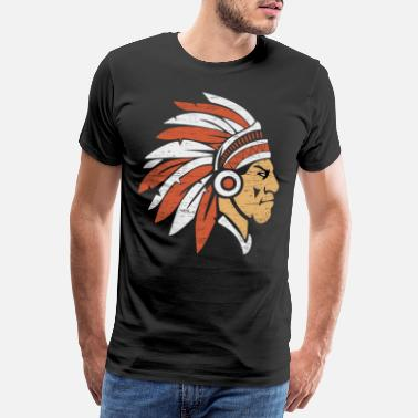 Indian Indian Gift Tippi Carnival Carnival - Mannen Premium T-shirt