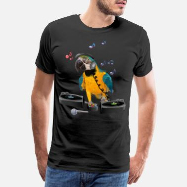 Ara Blue-and-yellow Macaw - Men's Premium T-Shirt