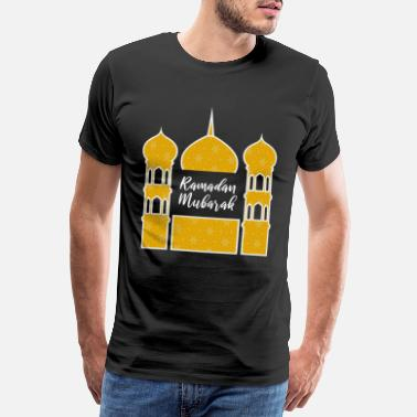 Quran Ramadan Mubarak 5 pillars of Islam fasting - Men's Premium T-Shirt