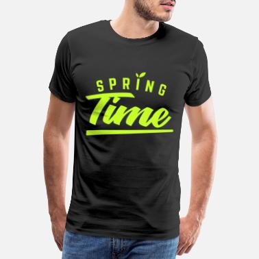 Grow Spring Time Green Say Cool gift - Men's Premium T-Shirt