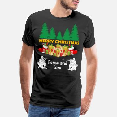 Take Soldier soldiers military war Christmas gift - Men's Premium T-Shirt