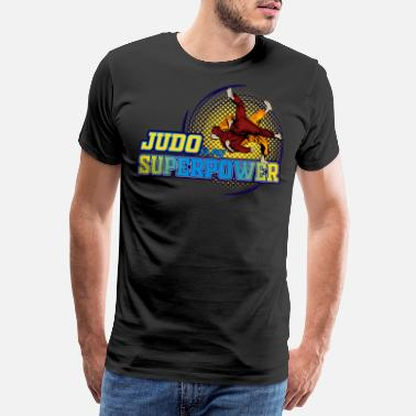 Defensive Judo Judoka Martial Arts Self-Defense Gift - Men's Premium T-Shirt