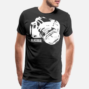 Lightning Photographer Photography Camera Camera Gift - Men's Premium T-Shirt