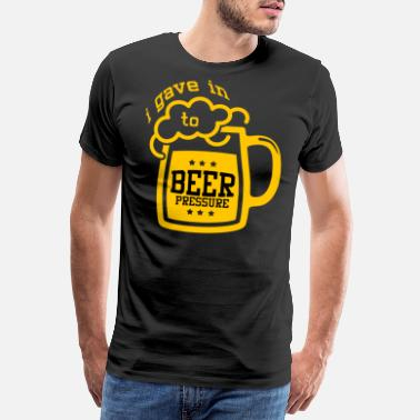 Connoisseur Beer brew beer lover alcohol saying gift - Men's Premium T-Shirt
