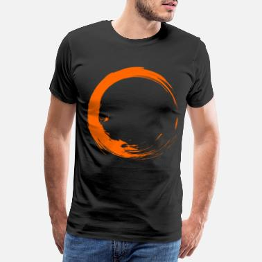 Brush Circle brush design New gift vector shape - Men's Premium T-Shirt