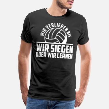 Volleyballer Volleyball Trainer I Volleyballer Jugendtrainer - Männer Premium T-Shirt