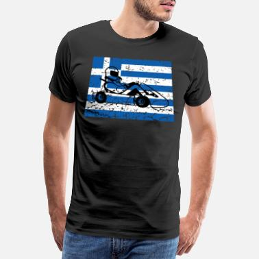 Sportscar Greece Go Karting Racing Athens - Men's Premium T-Shirt