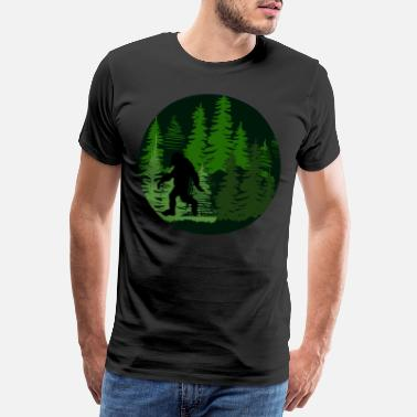 Sasquatch Sasquatch Gift Bigfoot - Men's Premium T-Shirt