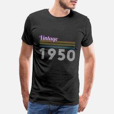 60 Years Vintage 1950, retro birthday gift - Men's Premium T-Shirt