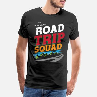 Trippy Sports Road Trip Squad Road Trip T-shirt Outdoor Gift - Men's Premium T-Shirt