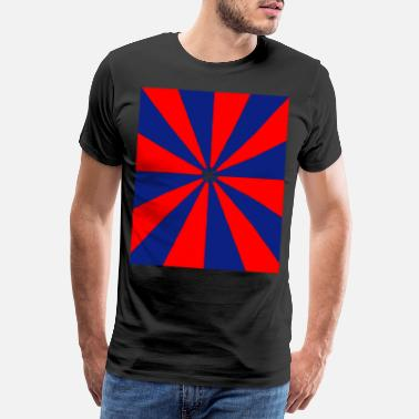 Reds red blue red - Men's Premium T-Shirt