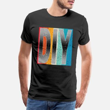 Cordless Screwdriver Do it yourself DIY gift - Men's Premium T-Shirt