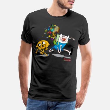 Adventure Time Jake And Finn - Men's Premium T-Shirt