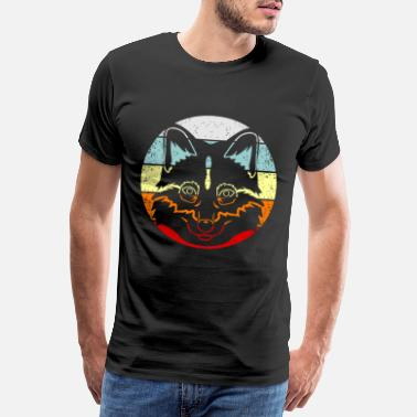 Fox Fox foxes Clever gift forest animal - Men's Premium T-Shirt