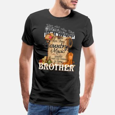Country Music Brother - Men's Premium T-Shirt