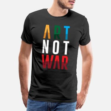No War Art no war - Premium T-shirt herr