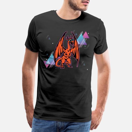 5a02ddb7 Disco Dragon Disco Dragon Premium T-skjorte for menn | Spreadshirt
