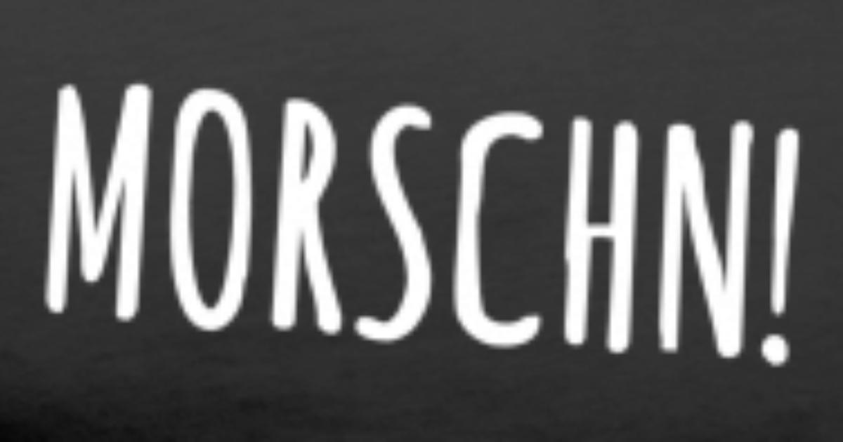 Morschn Guten Morgen Auf Sächsisch Sachsen Männer Premium T Shirt Spreadshirt