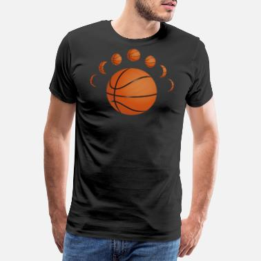 Basketball Ball - Men's Premium T-Shirt