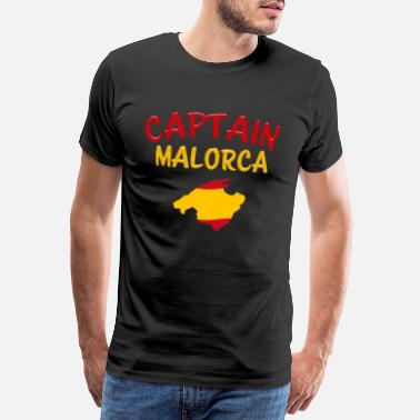 Get To Know Captain Mallorca group shirt Spain sun holiday - Men's Premium T-Shirt