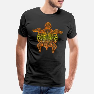 Maori Maori tattoo turtle - Men's Premium T-Shirt