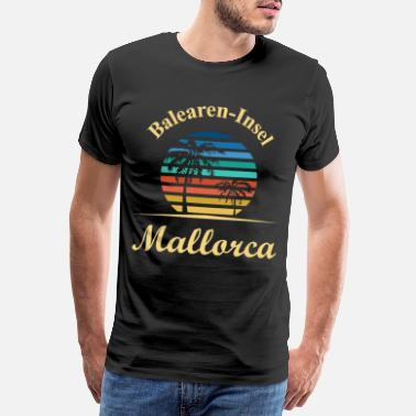 Hotel Mallorca Balearerne Schlager Insel Party Fun - Premium T-shirt mænd