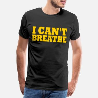 People i can't breathe - Men's Premium T-Shirt