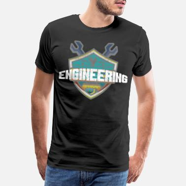 Engineering Student Or Cool Mechanical Engineering Engineering Student or - Men's Premium T-Shirt
