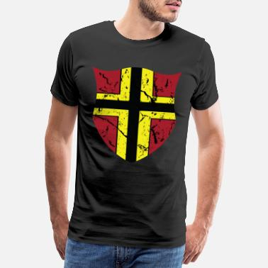 Assassin Wirmer flag German Resistance Stauffenberg - Men's Premium T-Shirt