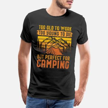 Outlet Camper camping motorhome outdoor - Men's Premium T-Shirt