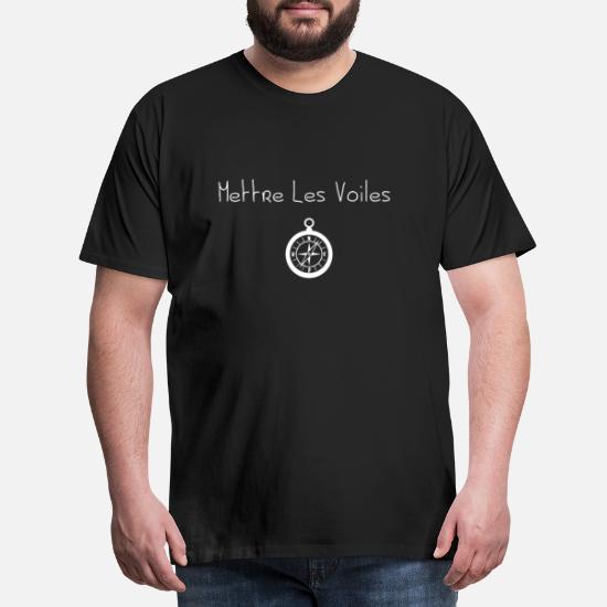 en soldes 5a794 0b03e Mettre les Voiles T-shirt premium Homme | Spreadshirt